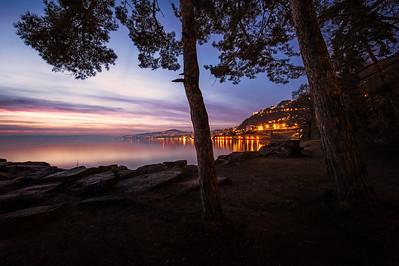 Coastline Veytaux and Montreux (Lake Leman | Switzerland)