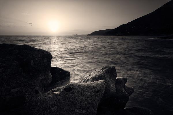 Sunrise at Capo Sant'Andrea