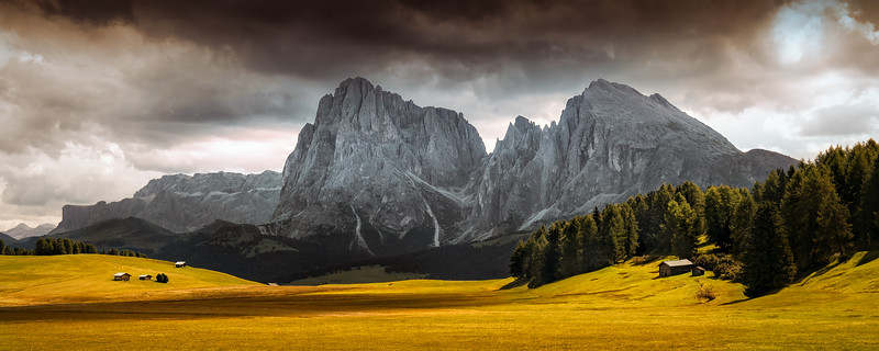 Summer's End at Seiser Alm (South Tyrol)