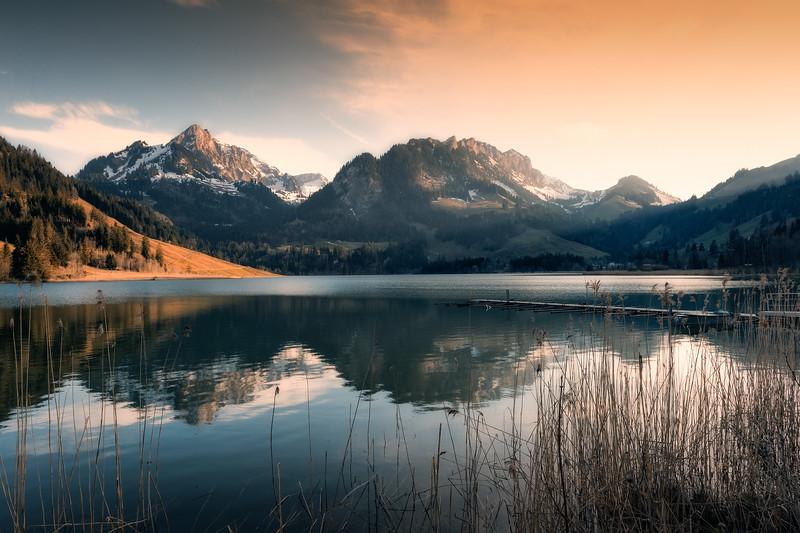 Magic Places   Schwarzsee (Switzerland)
