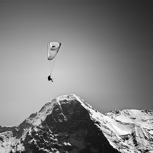Paragliding | North Face of the Eiger