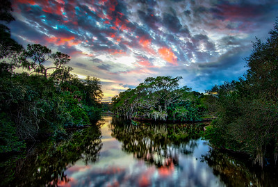 Fire over the Bayou