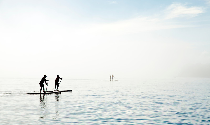 Paddling the eastern bays