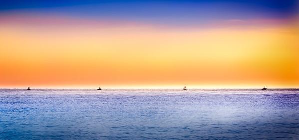 Fishing at Last Light