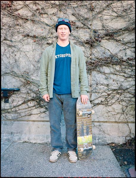 Skateboarding Trois