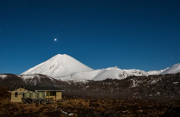 Venus over Ngauruhoe