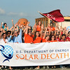Solar Decathlon teams cheering
