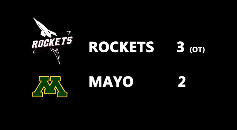 2015 11 07-Time-15-00-00 Game Highlights JML Hockey Rockets 3 Mayo 2 OT
