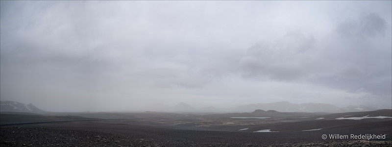 Iceland High Plains Panorama