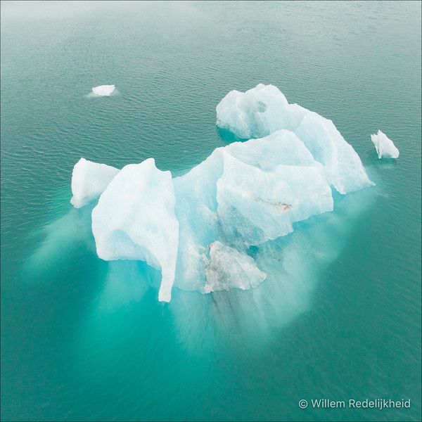 Iceberg From The Air