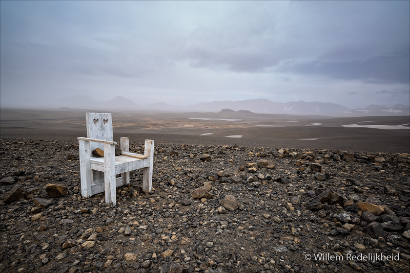 Lonely Chair With Awesome View