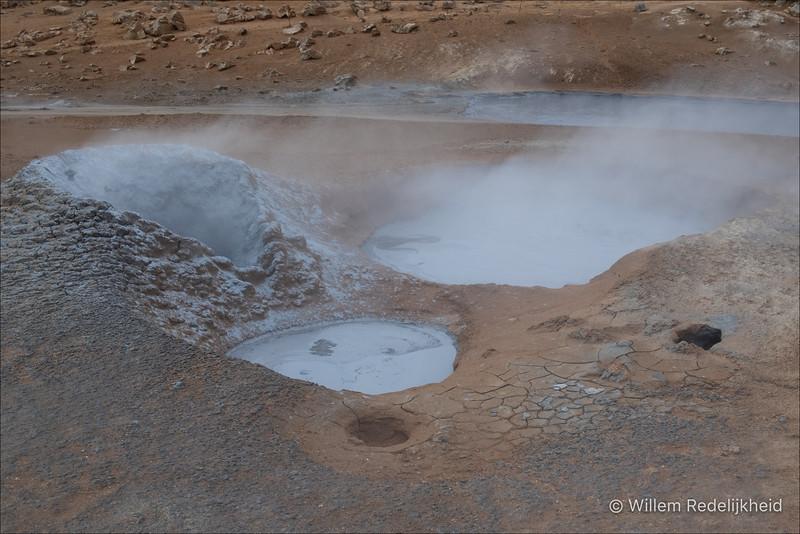 Steaming Mudpools