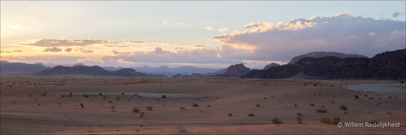 Sunset on the Wadi Rum