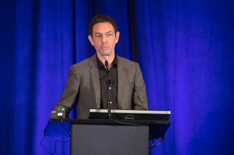 """Dr. Philippe Moreau spoke about """"Transplant, Consolidation, and Maintenance: The Role of Minimal Residual Disease (MRD) in Monitoring."""""""