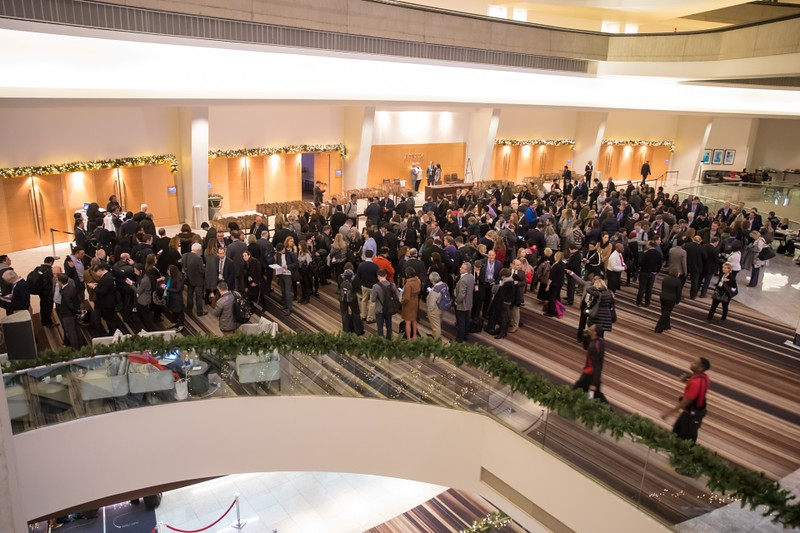 Then, on Friday, December 8, 2017, nearly 1,000 medical professionals attended the IMF's Satellite Symposium.