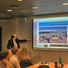 Dr. Brian G.M. Durie presents at the meeting of the iStopMM team in Iceland.