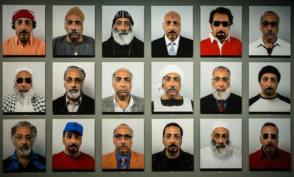 One Egyptian. 18 portraits.