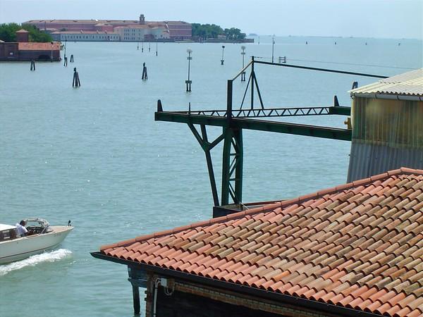 Boatyard Calle Michelangelo Giudecca Venice