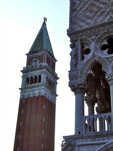 St Mark's Campanile & Doge's Palace Venice