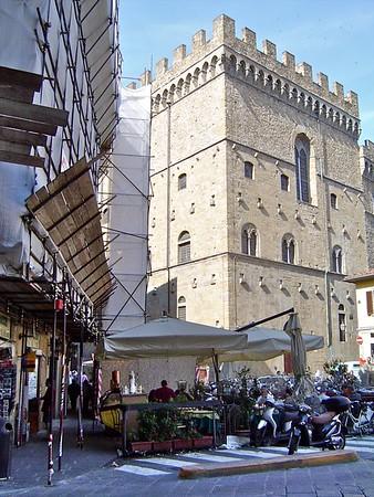 Piazza di San Firenze & Museo Bargello  Florence Italy
