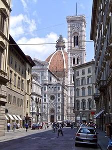 Santa Maria del Fiore & Campanile  Florence Italy