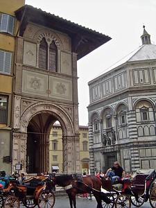 Loggia del Bigallo & di San Giovanni  Florence Italy