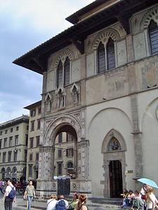 Loggia del Bigallo & Piazza del Duomo  Florence Italy