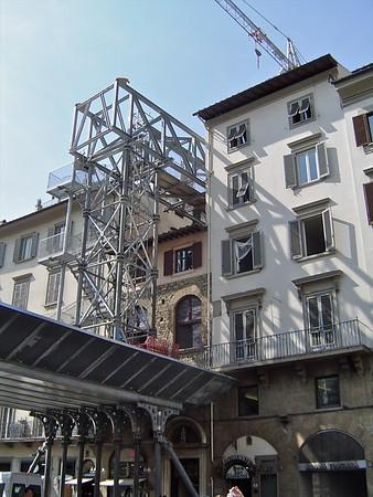 Piazza di San Giovanni  Florence Italy