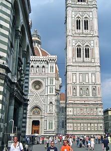 Santa Maria del Fiore Campanile  Florence Italy