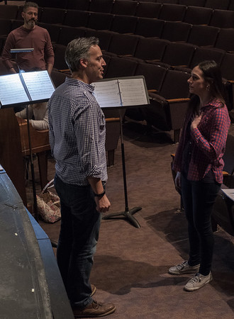 Bridges of Madison County Rehersals and Performances