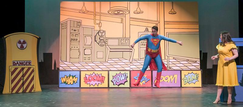 Tykes Superman (Tech Week)