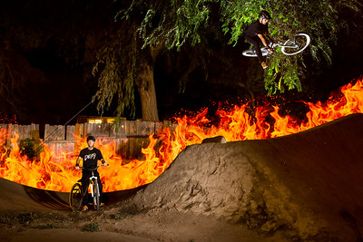 Dirt Jumping in Boise, Idaho