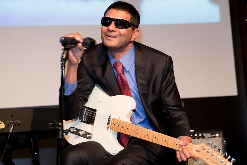 Dr. S. Vincent Rajkumar celebrates in song after receiving the prestigious Kyle Award.