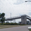 Hudson Street Pedestrian Bridge (view from Hudson Street)