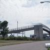Hudson Street Pedestrian Bridge (view from Hudson Street)
