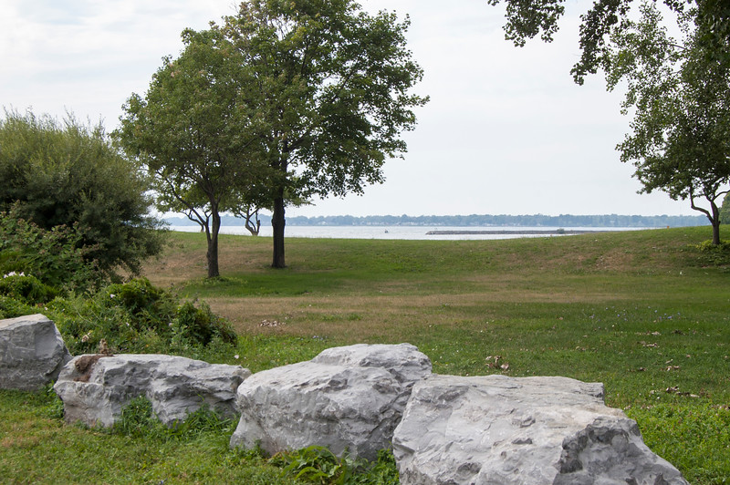 View of water, Lakefront Boulevard Entrance (at Lakefront Boulevard)