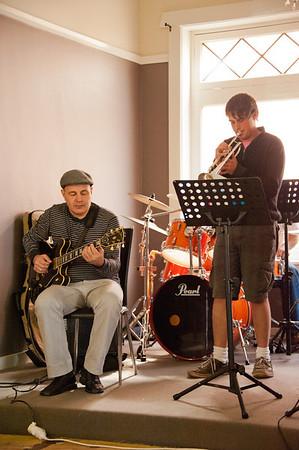 Laksar Reese Quartet workshop at Yenda Pub