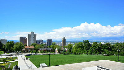 View of Salt Lake City, Utah