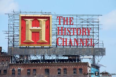 History Channel Billboard