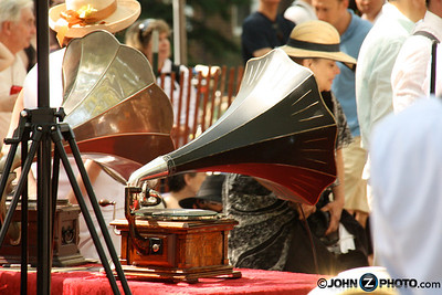 Gramophone From Roaring 20's Festival On Governor's Island