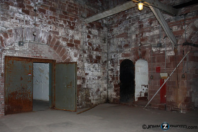 Underground Ammunition Bunker on Governor's Island