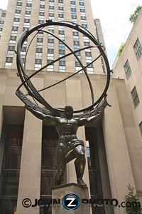 Rockefeller Center Atlas Staute