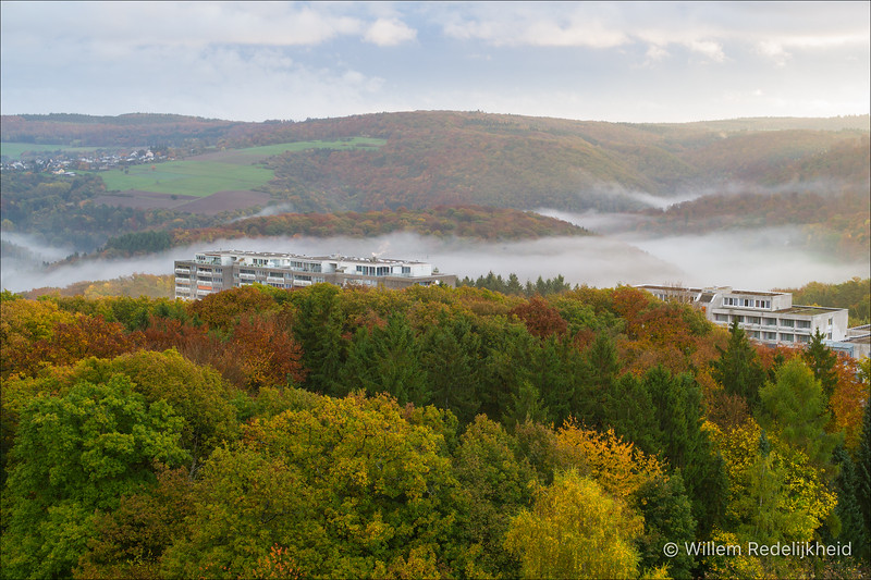 Autumn in Lahnstein (Germany)
