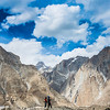 Baltoro glacier trekking.<br /> My friends, Asif and Mukkaram taking photos.
