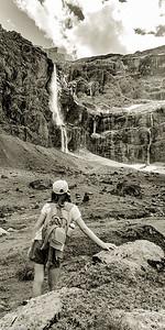La grande cascade de Gavarnie (423m !)