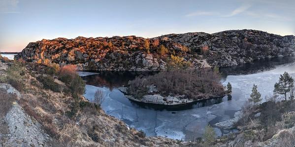 Mørkavatnet, Sveio, Norway
