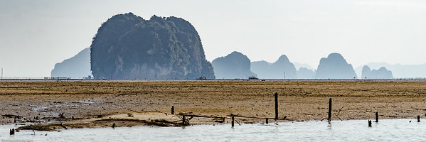 Islands and Low Tide (Thaïland)