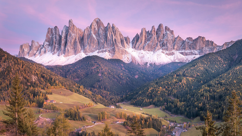 Twilight at Santa Maddalena