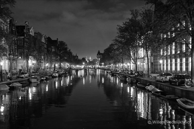 Amsterdam Canal @ Night