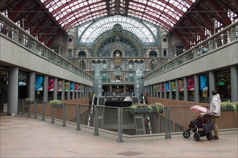 Trainstation Antwerp (Belgium)